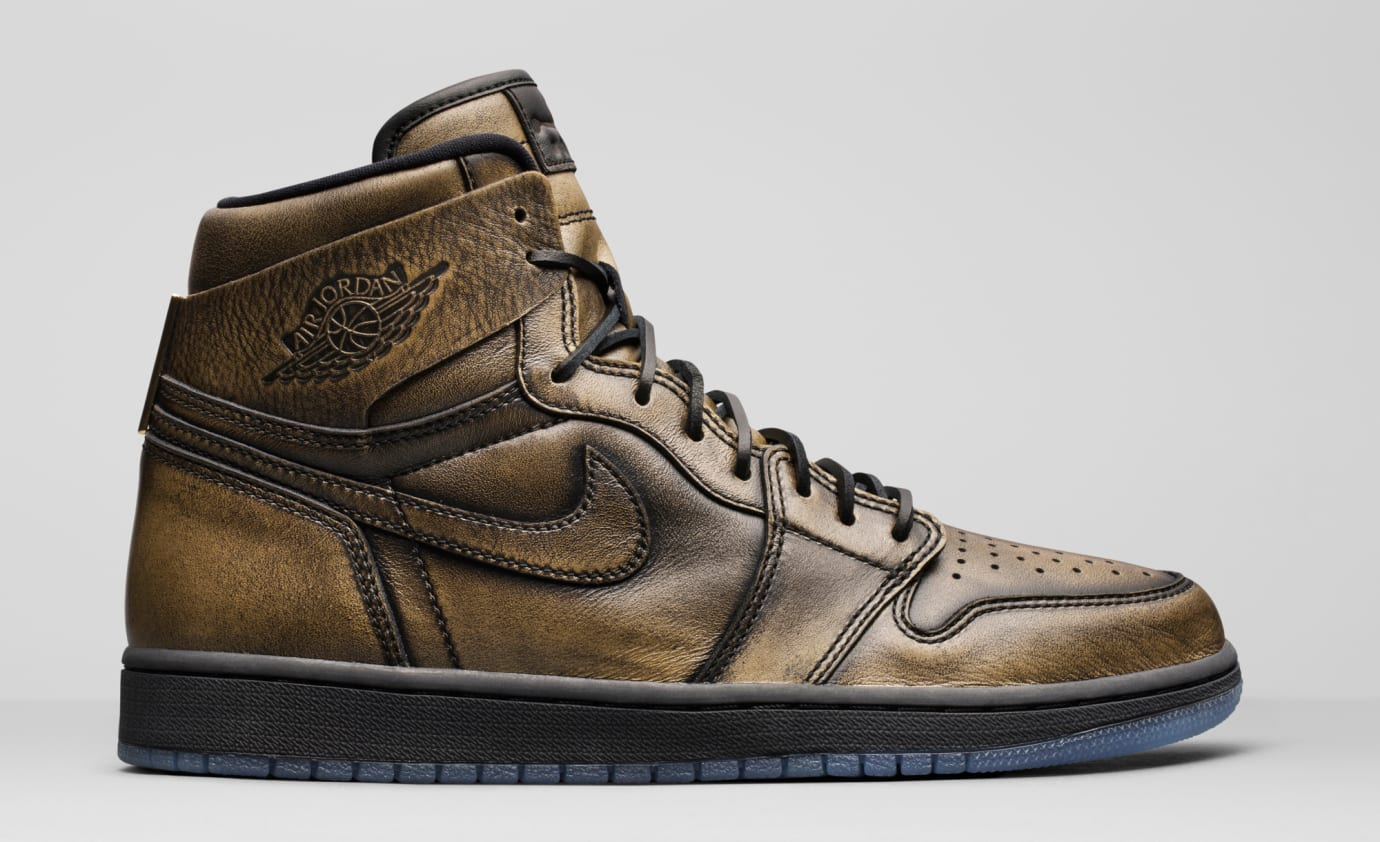 ddc922605f5 Wings Air Jordan 1 Gold 288703-500 Release Date   Sole Collector