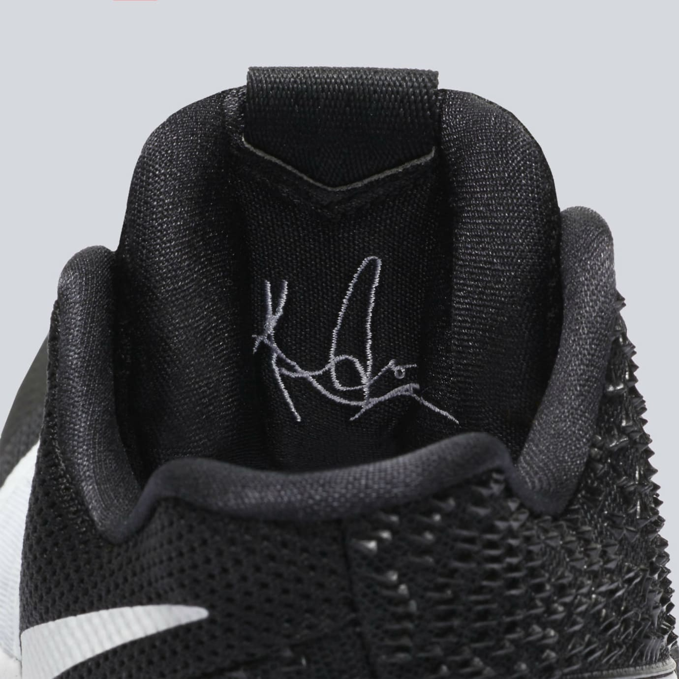 a73496a8c7aa Nike Kyrie 3 Black White Tuxedo Release Date Tongue 917724-001 ...