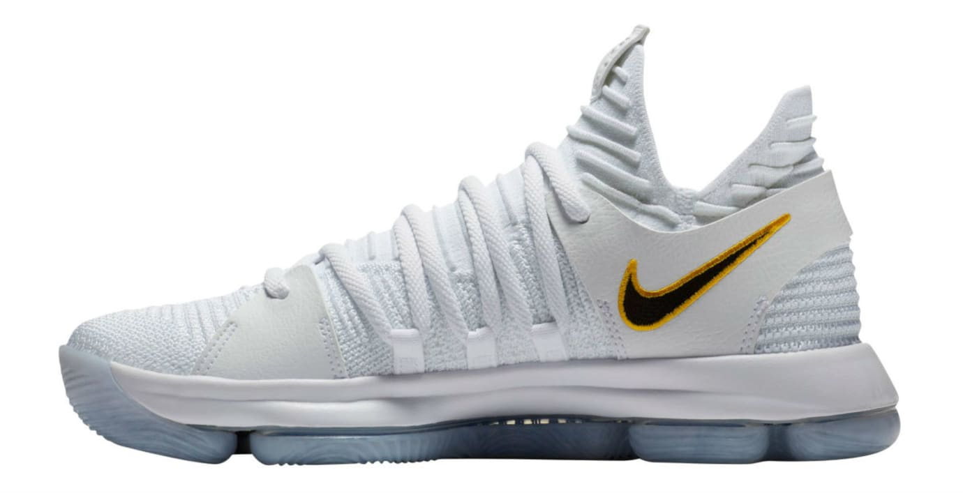 separation shoes d8c16 a6a40 Nike KD 10 Opening Night Release Date Medial 897815-101