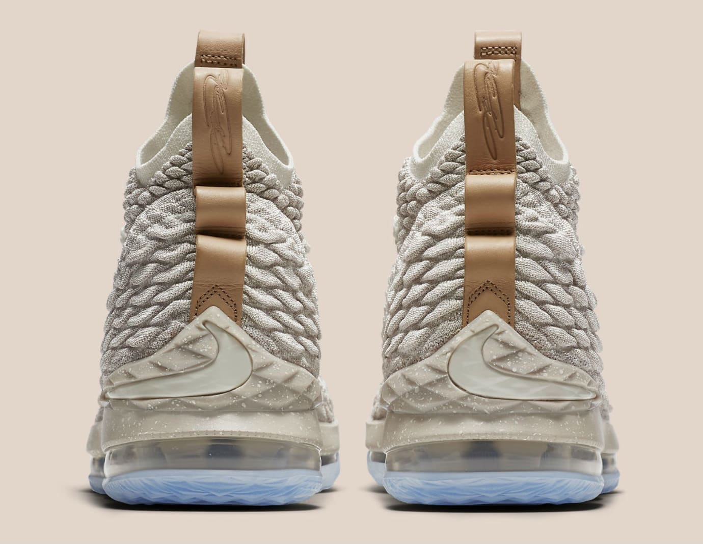 Nike LeBron 15 Ghost Release Date Heel 897649-200