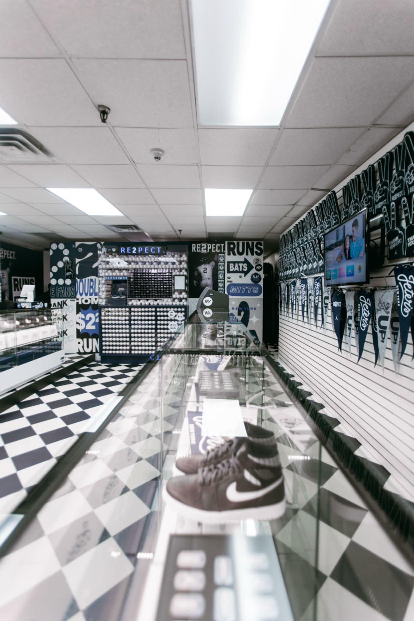 383821e8bd2b Derek Jeter Air Jordan 11 Pop-Up Shop in New York