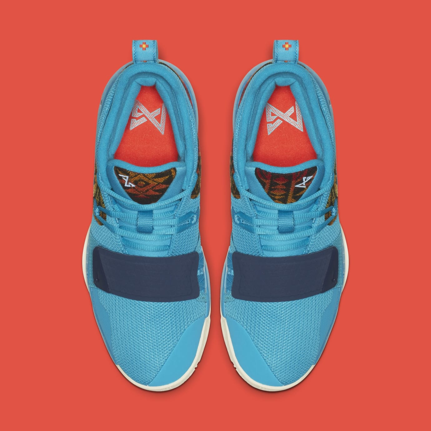 Nike PG 2.5 'Pendleton' Multi-Color/College Navy CI0294-900 (Top)