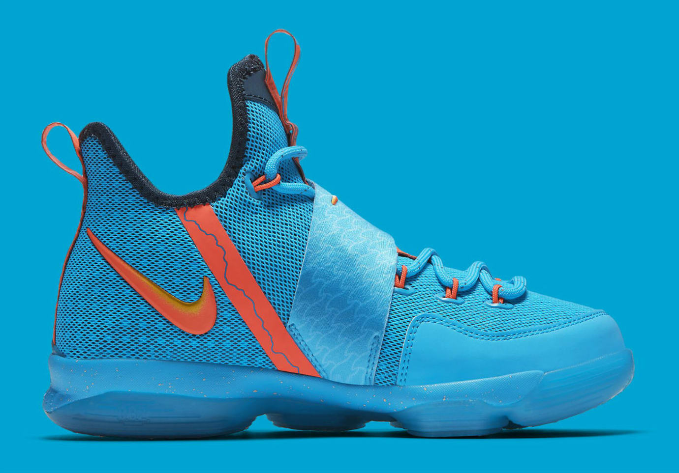 bcc2400221cd Nike LeBron 14 GS Cocoa Beach Release Date Medial 859468-477