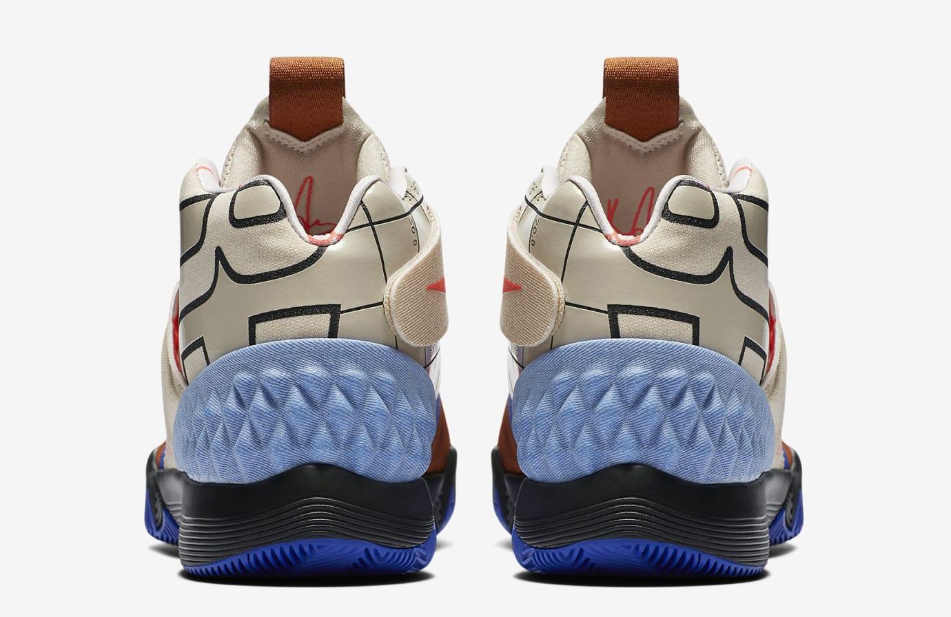 Nike Kyrie Hybrid AJ5165-900 Heel