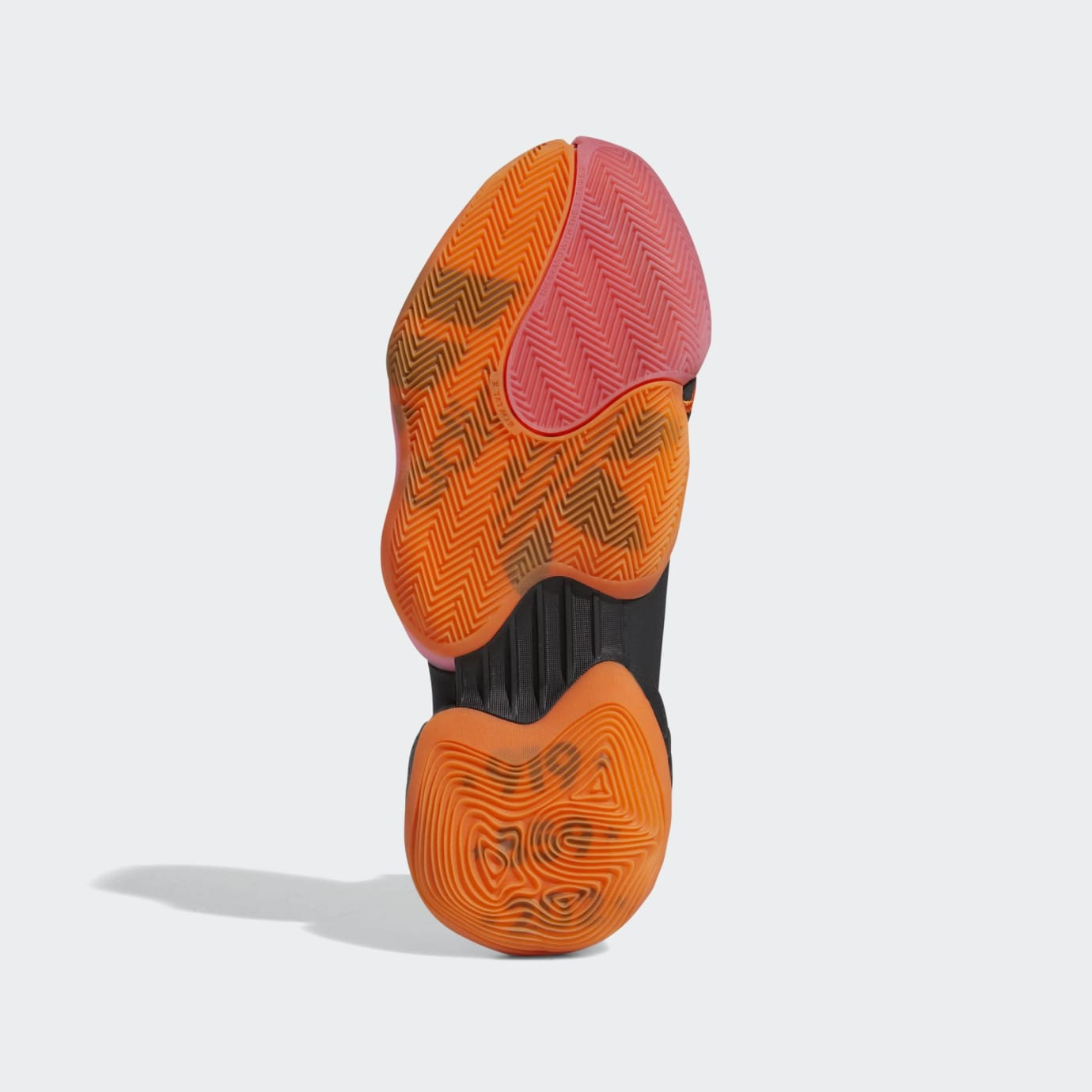 Adidas Crazy BYW X PE 'Wall Way' Core Black/Footwear White/Orange (Bottom)