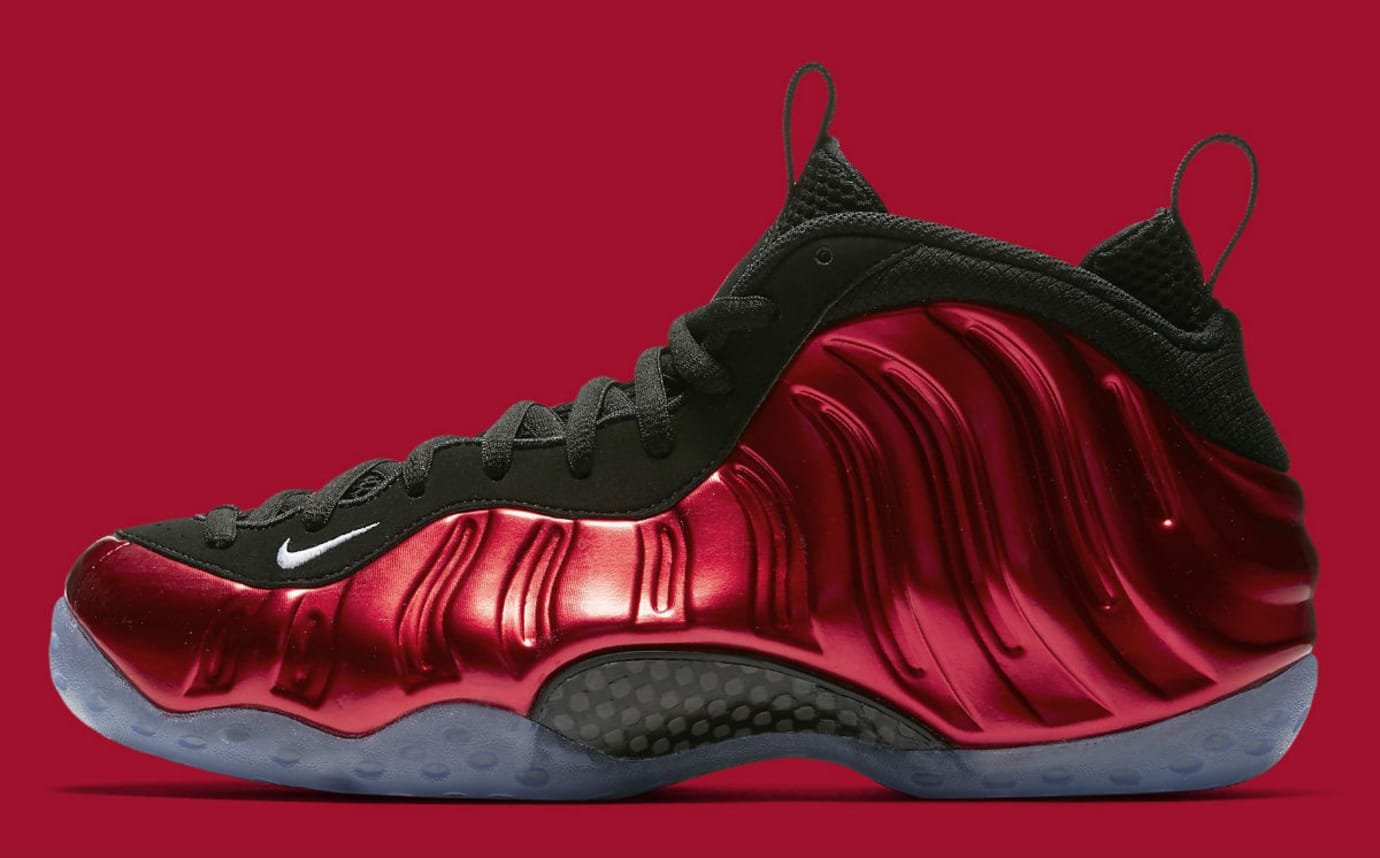 pretty nice d4aa8 69f52 Nike Air Foamposite One Metallic Red Release Date Profile 314996-610