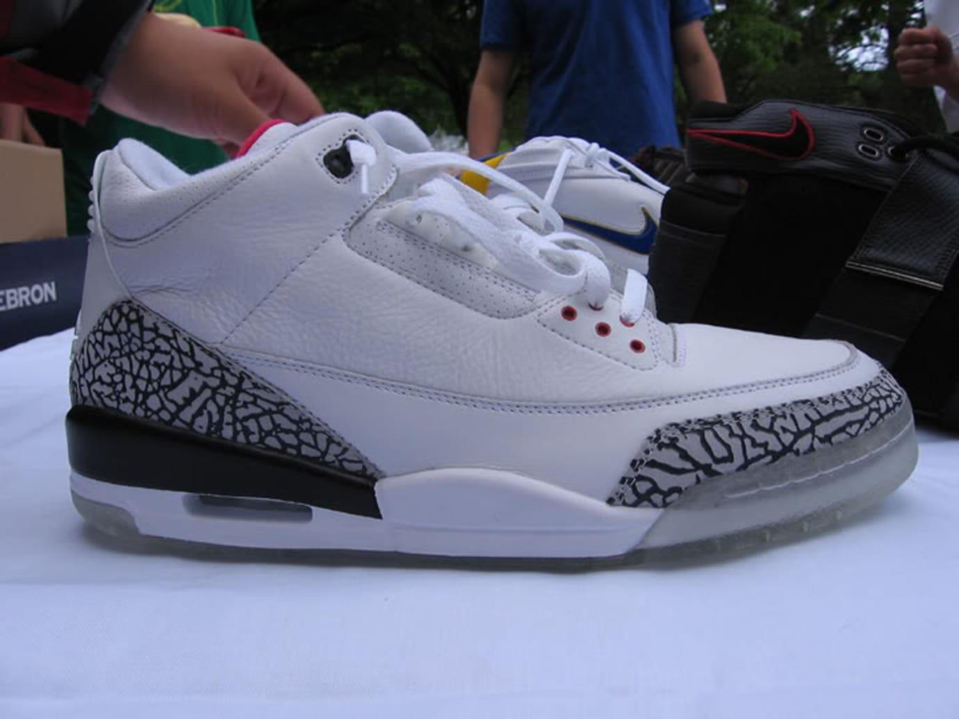 Air Jordan 3 'Clear Sole' Sample