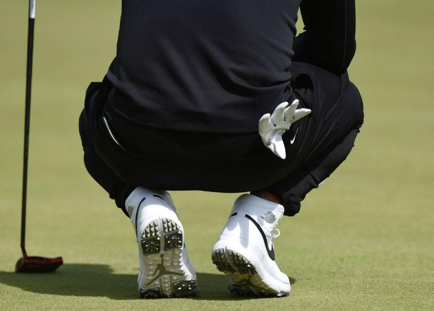 Jason Day Air Jordan 1 Golf Shoes (4)