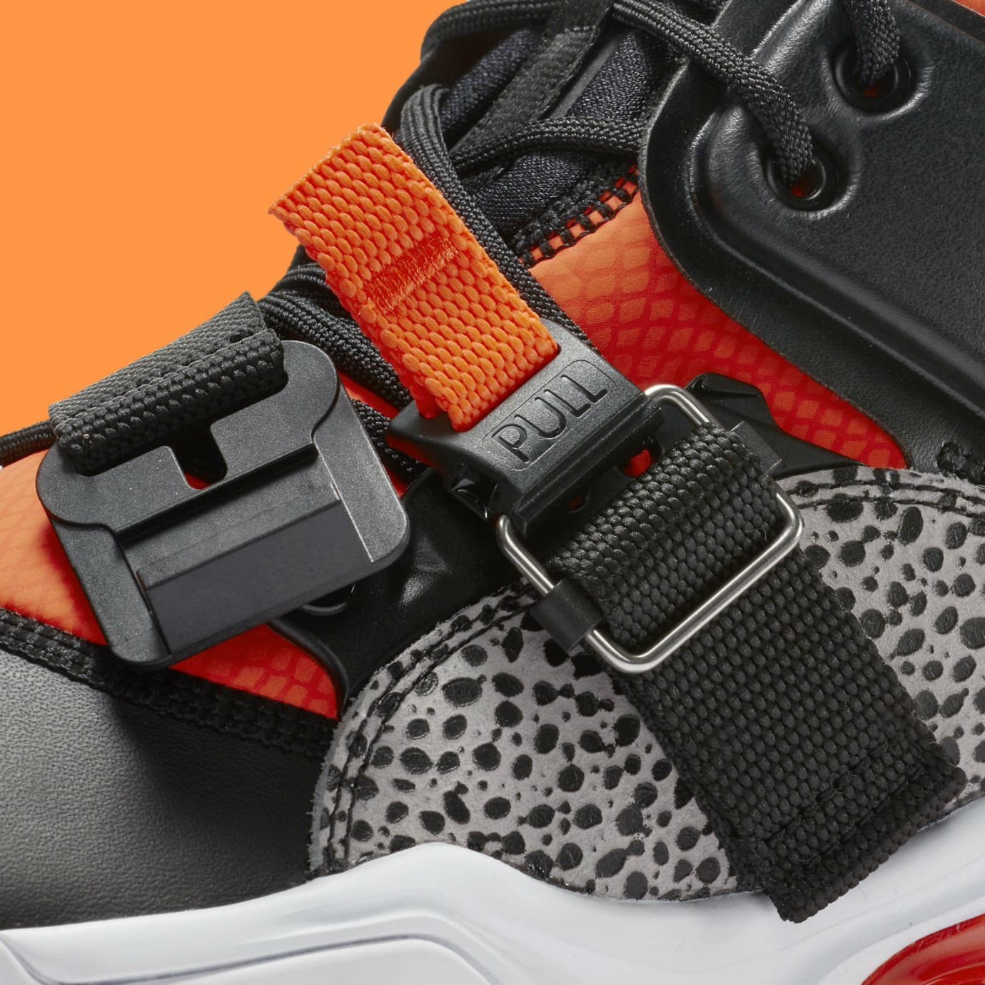 Nike Air Force 270 Safari Release Date AH6772-004 Straps