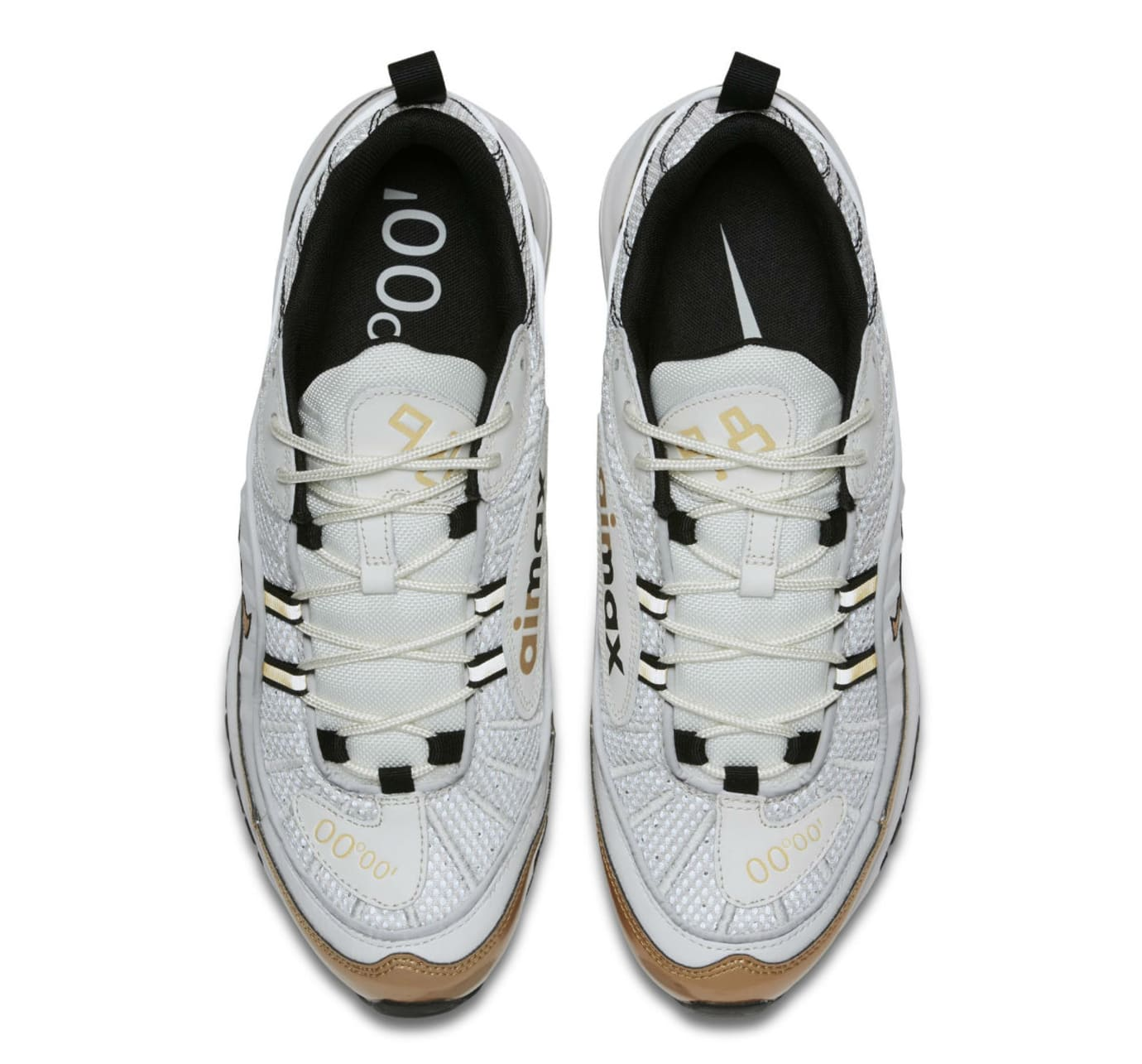 Nike Air Max 98 UK White Gold Release Date Top