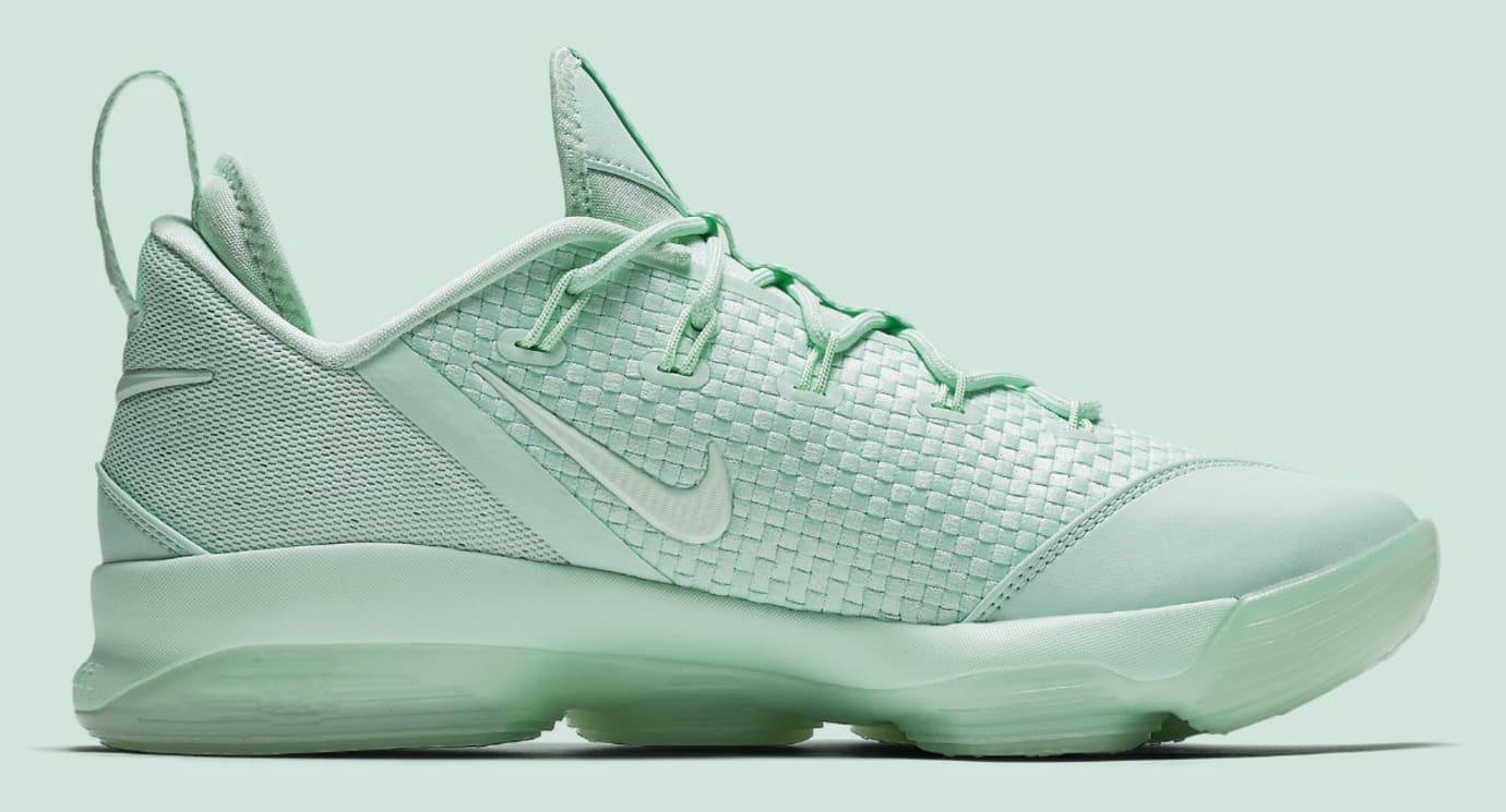 Nike LeBron 14 Low Green Release Date Medial 878635-300