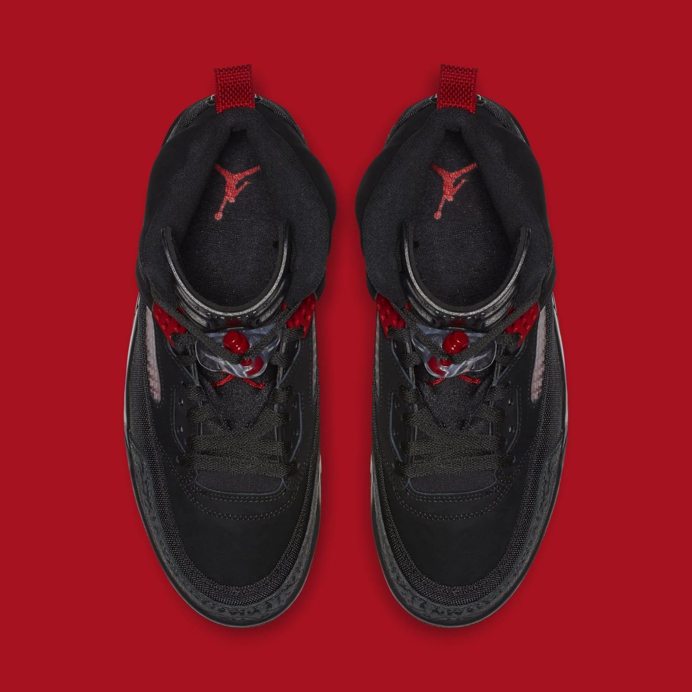 fb1fb0b6f9c2dc Jordan Spizike  Black Anthracite-Gym Red  315371-006 Release Date ...