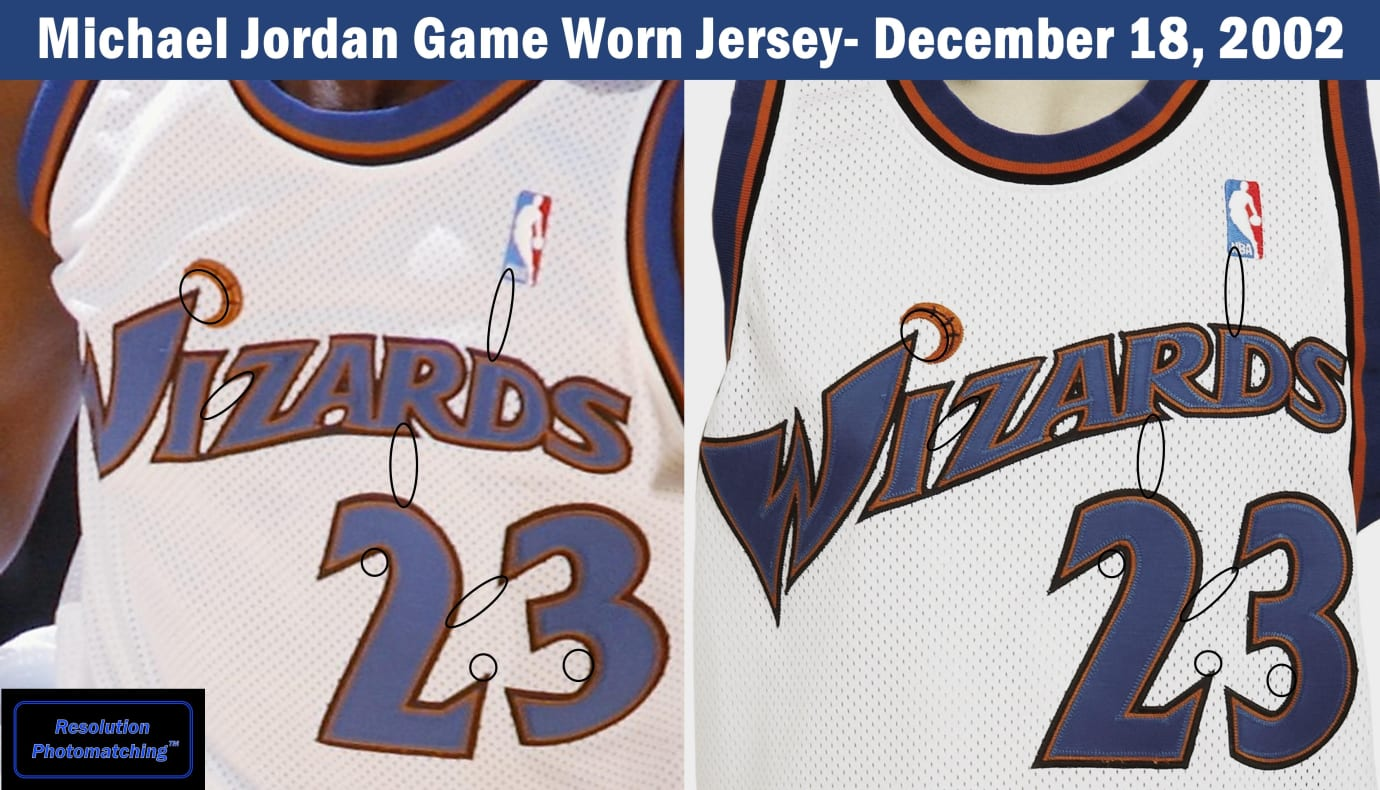 detailed look a1ce8 d254b Why Someone Paid $50,000 for Michael Jordan's Wizards Jersey ...