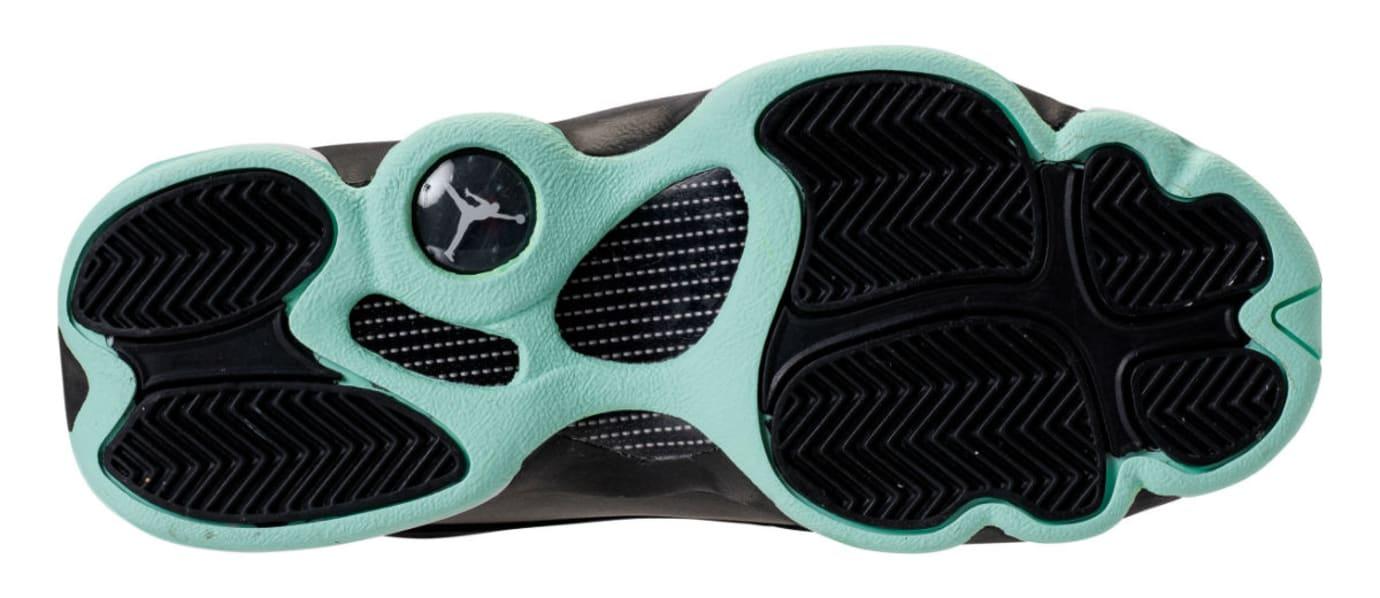 timeless design 0adcf 8914d Air Jordan 13 GS Mint Foam Release Date Sole 439358-015