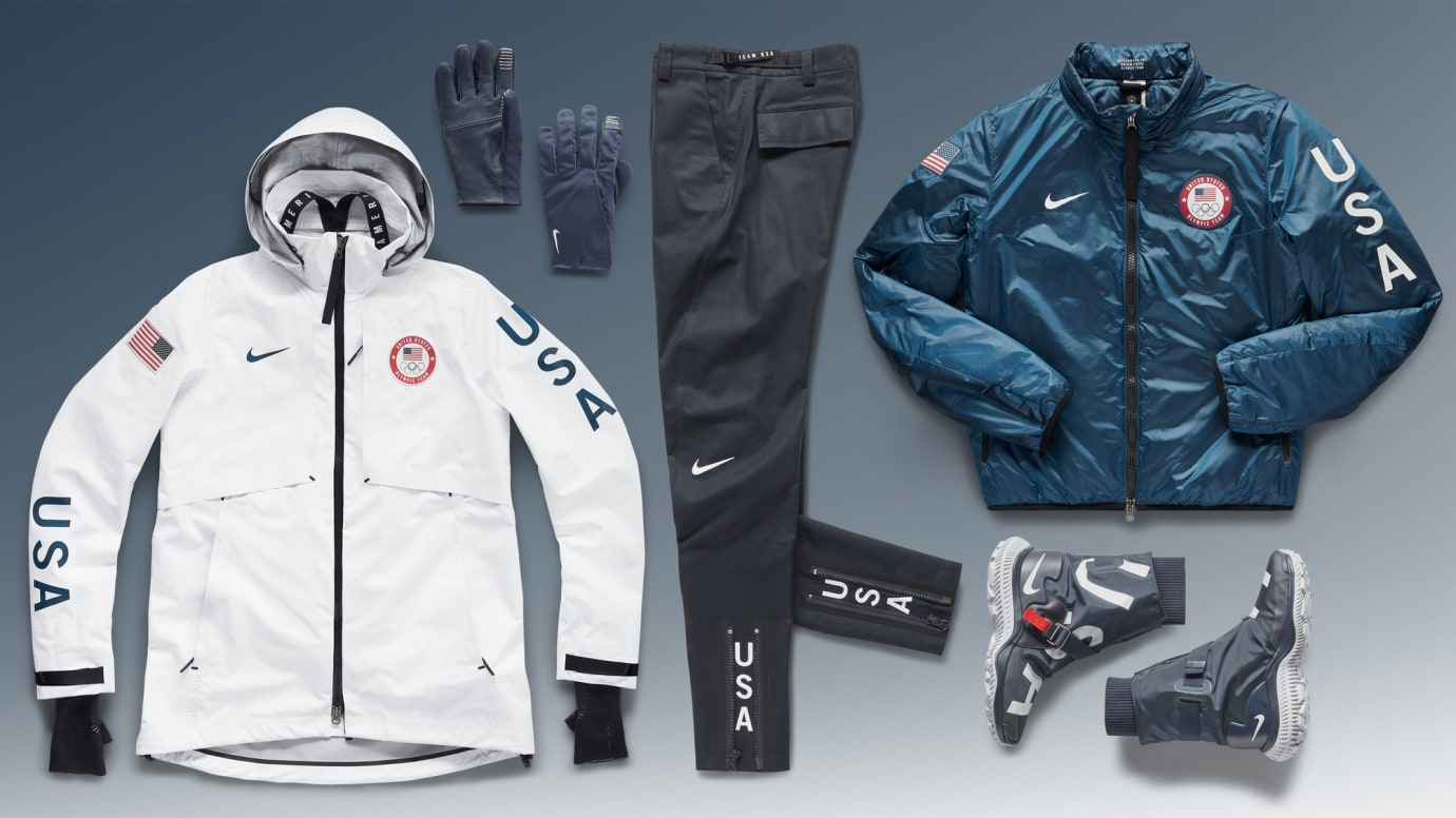 Integral Heredero hilo  Nike's 2018 Winter Olympics Team USA Medal Stand Apparel Collection | Sole  Collector