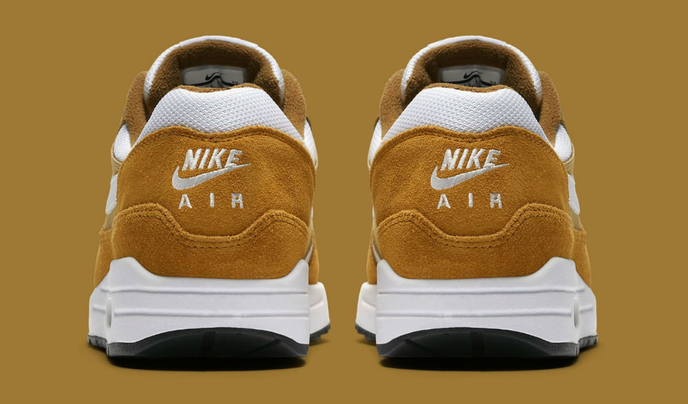 Nike Air Max 1 Curry 2018 Release Date 908366-700 Heel