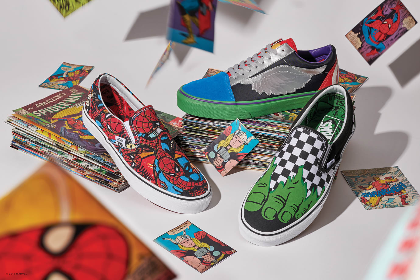Vans x Marvel Collection 3