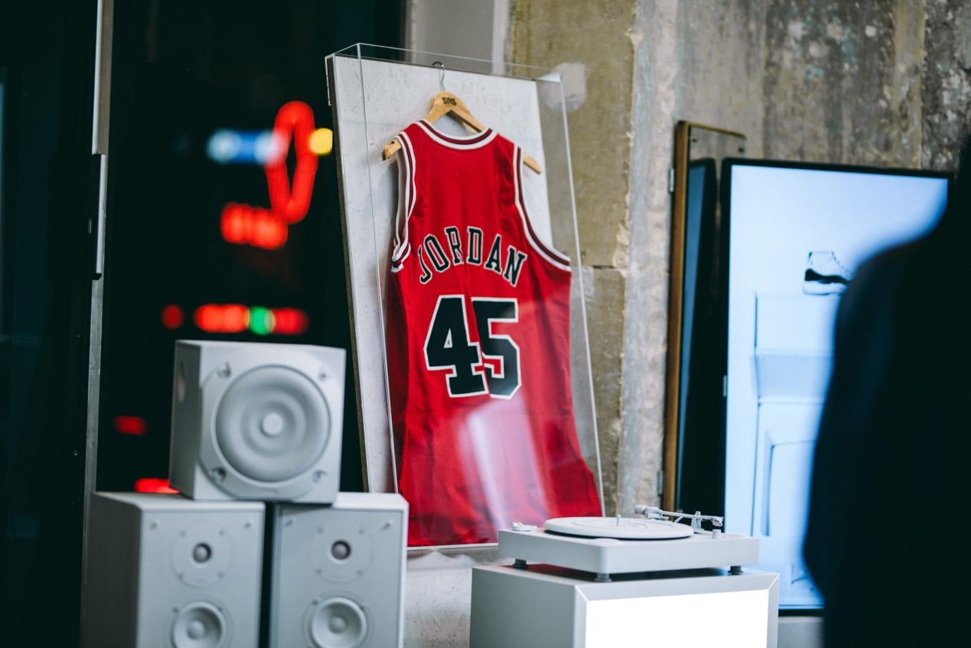 Sneakersnstuff Grail Tour Michael Jordan 45 Jersey
