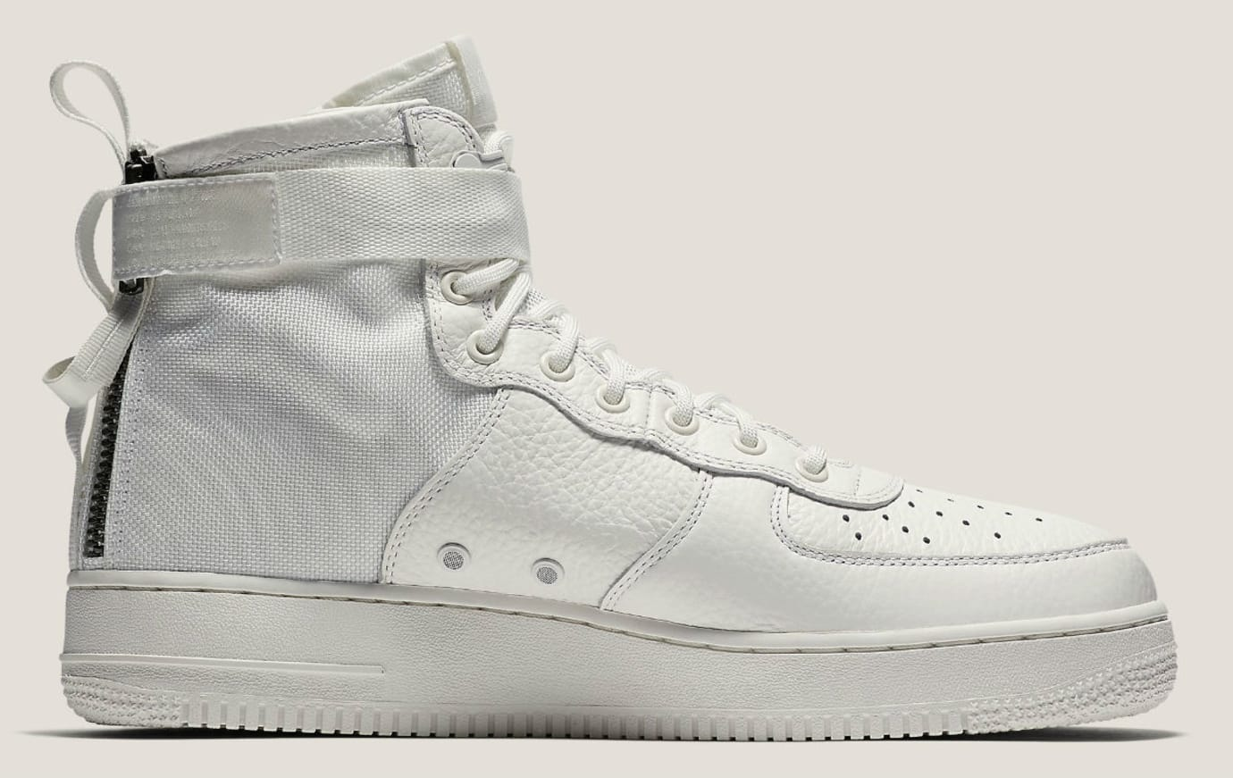 Nike Special Field Air Force 1 Mid Ivory Release Date Medial AA6655-100