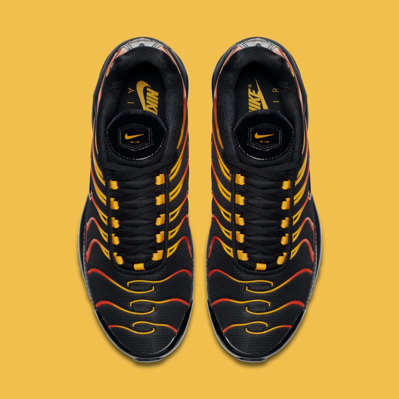 Nike Air Max 97/Plus 'Black/Engine/Shock Orange' AH8144-002 (Top)