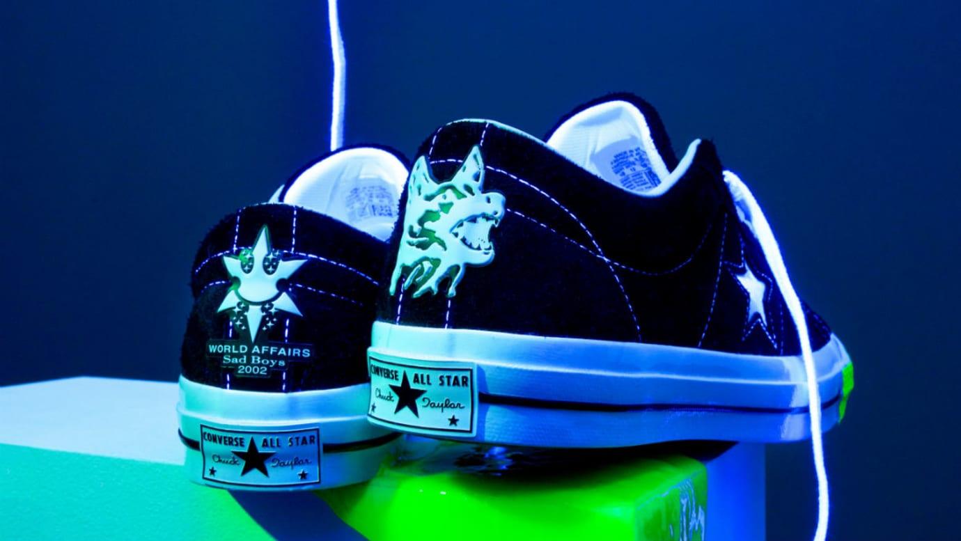 Yung Lean Sadboys Converse One Star Release Date Heel
