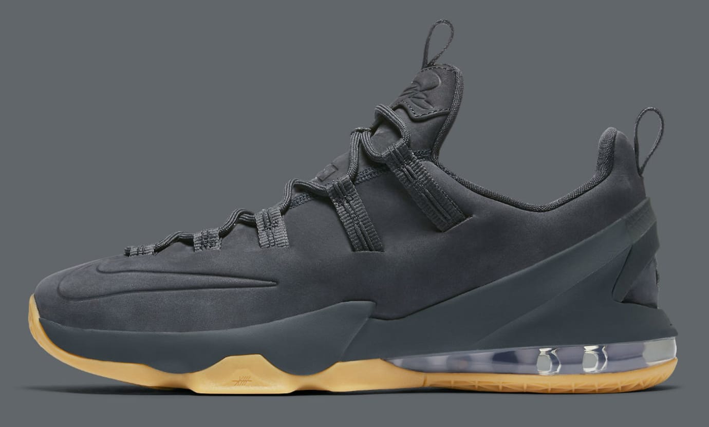 best service d0174 a6866 Nike LeBron 13 Low Premium Anthracite Profile AH8289-001