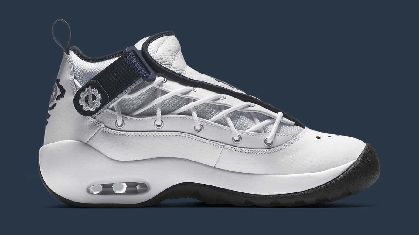 Nike Air Shake Ndestrukt 880869-102 White Navy Medial