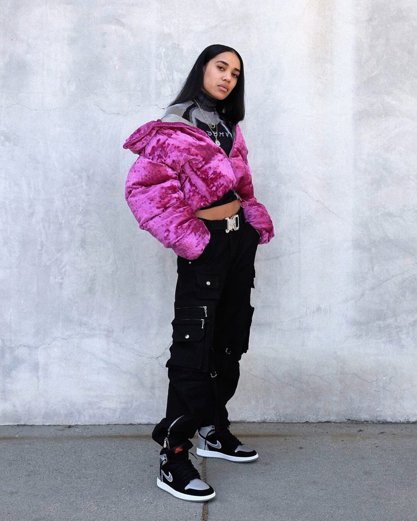 Air Jordan 1 Aleali May Black Silver Release Date Lookbook 1