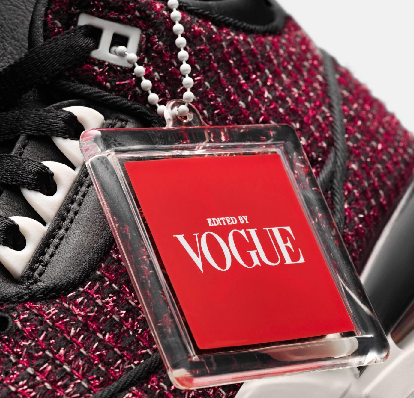 Vogue x Air Jordan 3 SE AWOK 'Red' (Detail)