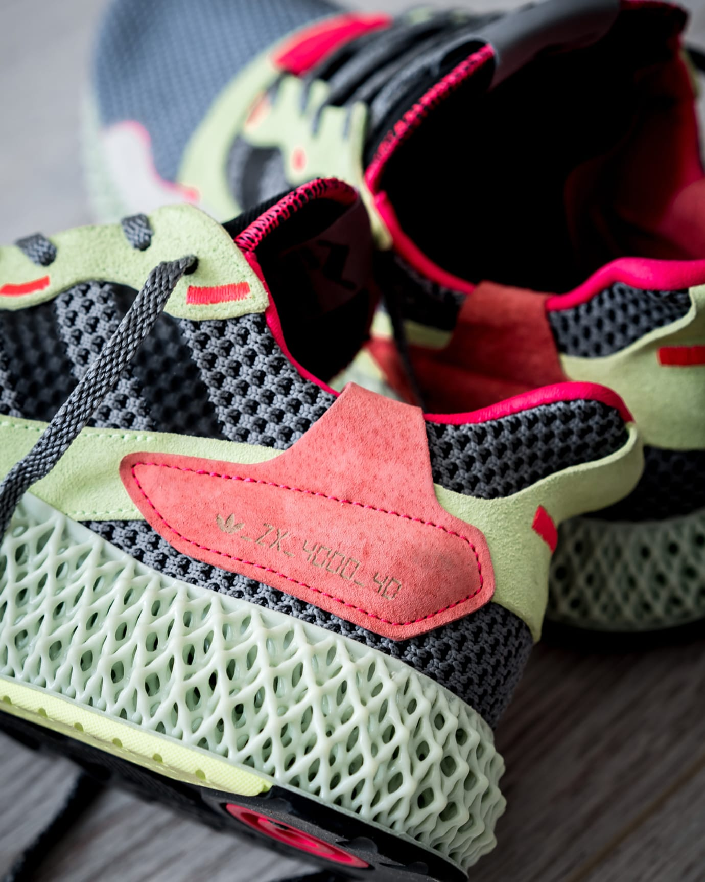 brand new 82449 20744 Adidas ZX 4000 4D 'Grey' Release Date | Sole Collector