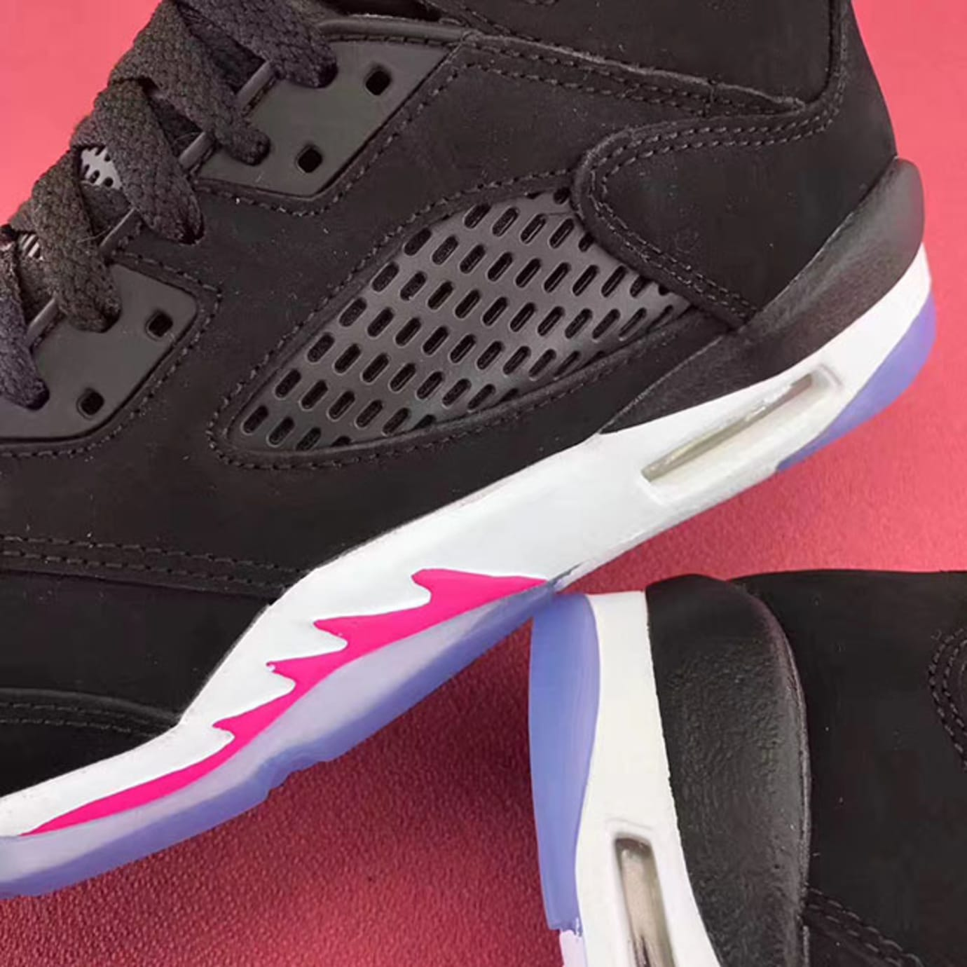 c7e55a70de4a7d Air Jordan 5 GS Deadly Pink Release Date Side 440892-029