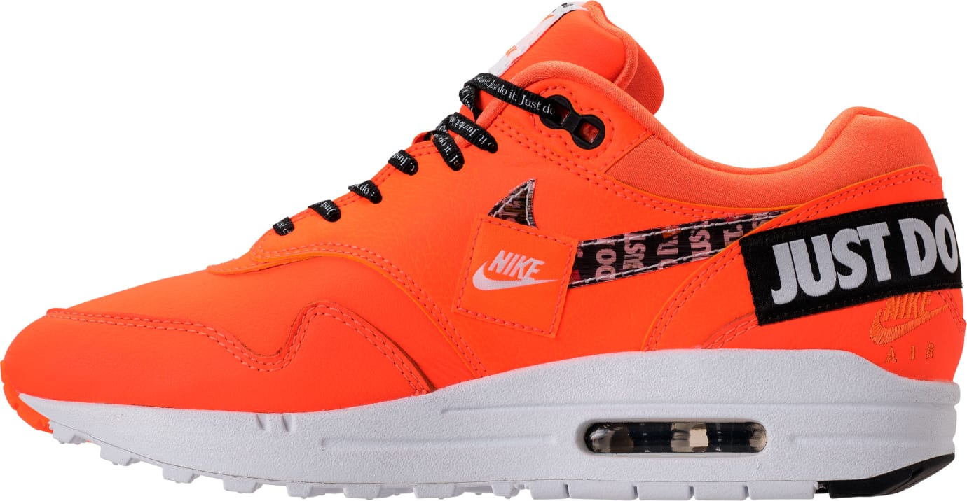 Nike Air Max 1 Just Do It Orange Release Date 917691-800 Medial