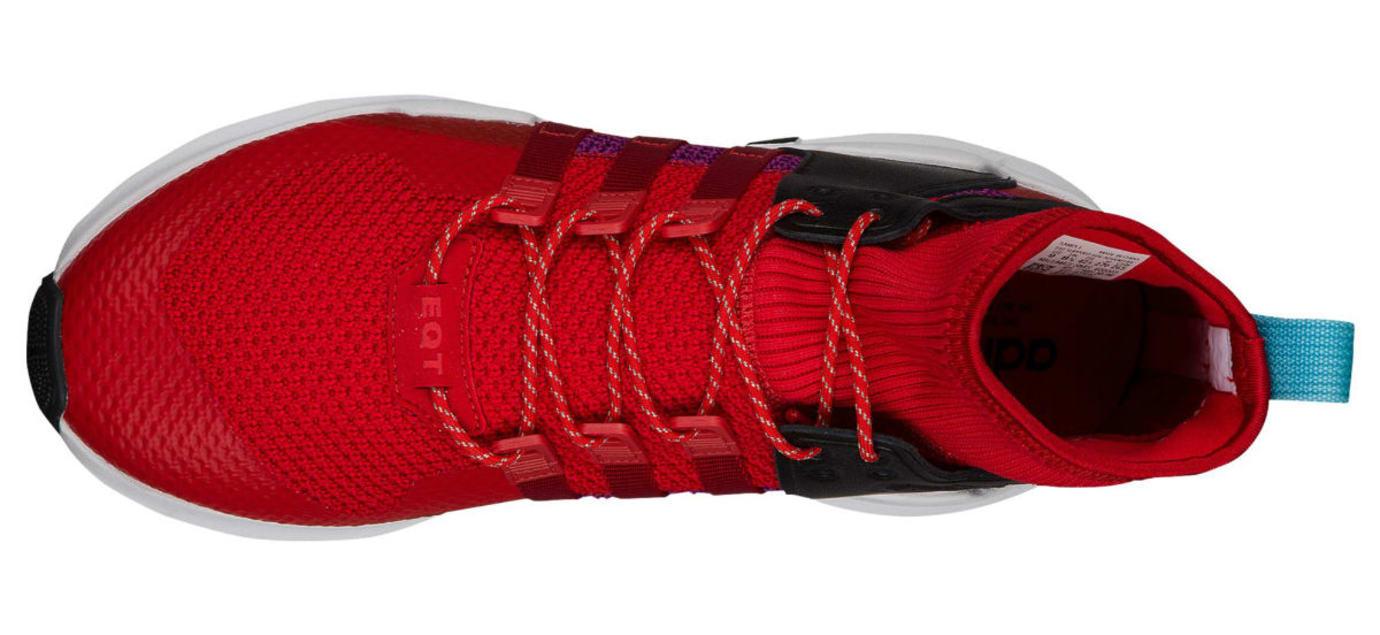 meet dde98 ab945 Adidas EQT Support ADV Winter Scarlet Shock Purple Release Date Top
