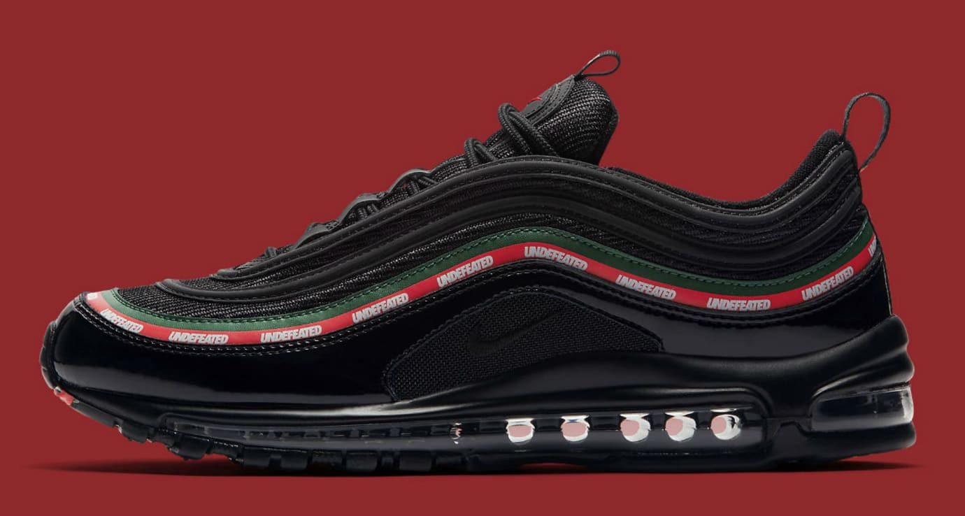 Undefeated x Nike Air Max 97 Black Release Date Profile AJ1986-001