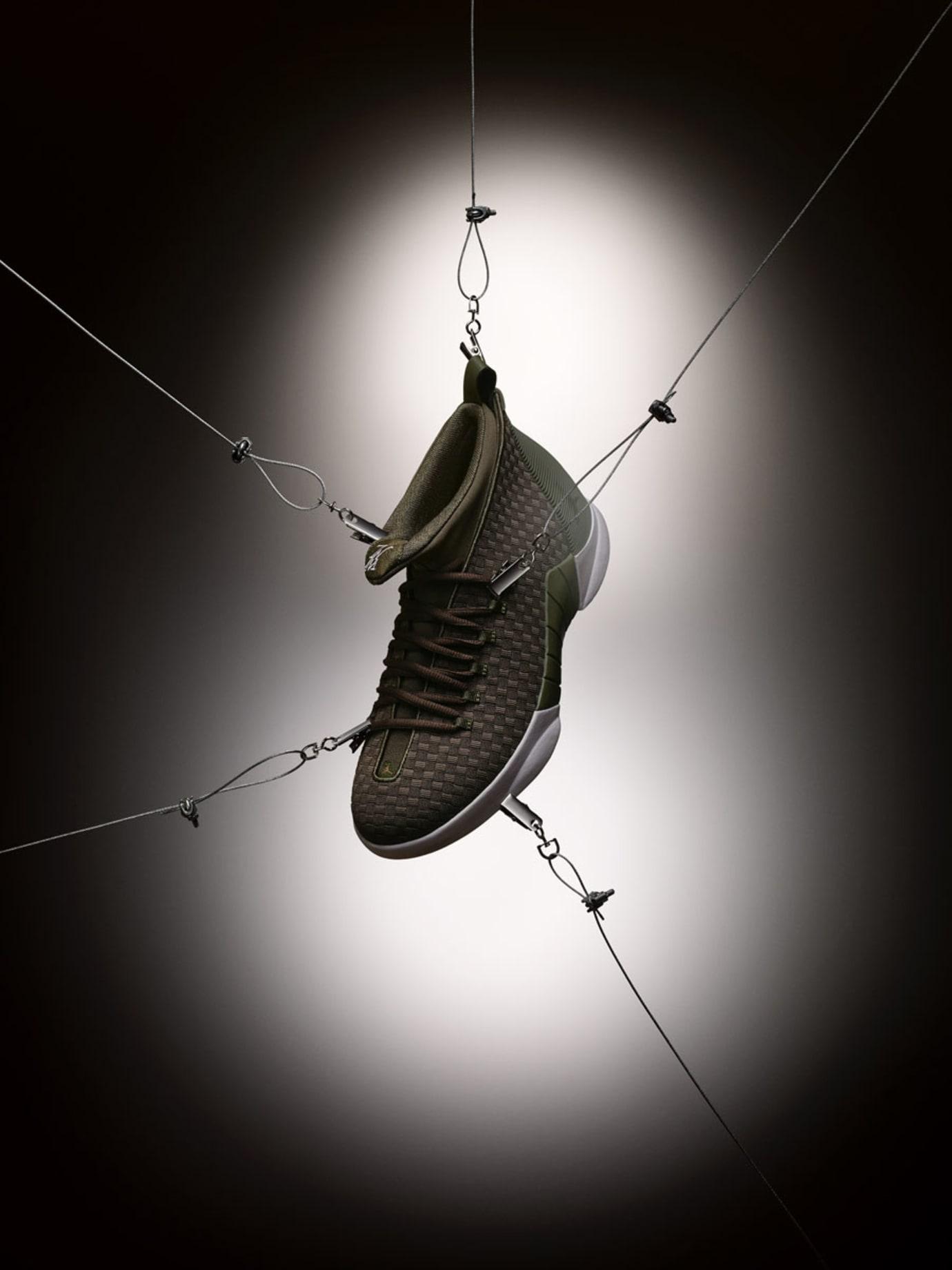 PSNY x Air Jordan 15 Olive