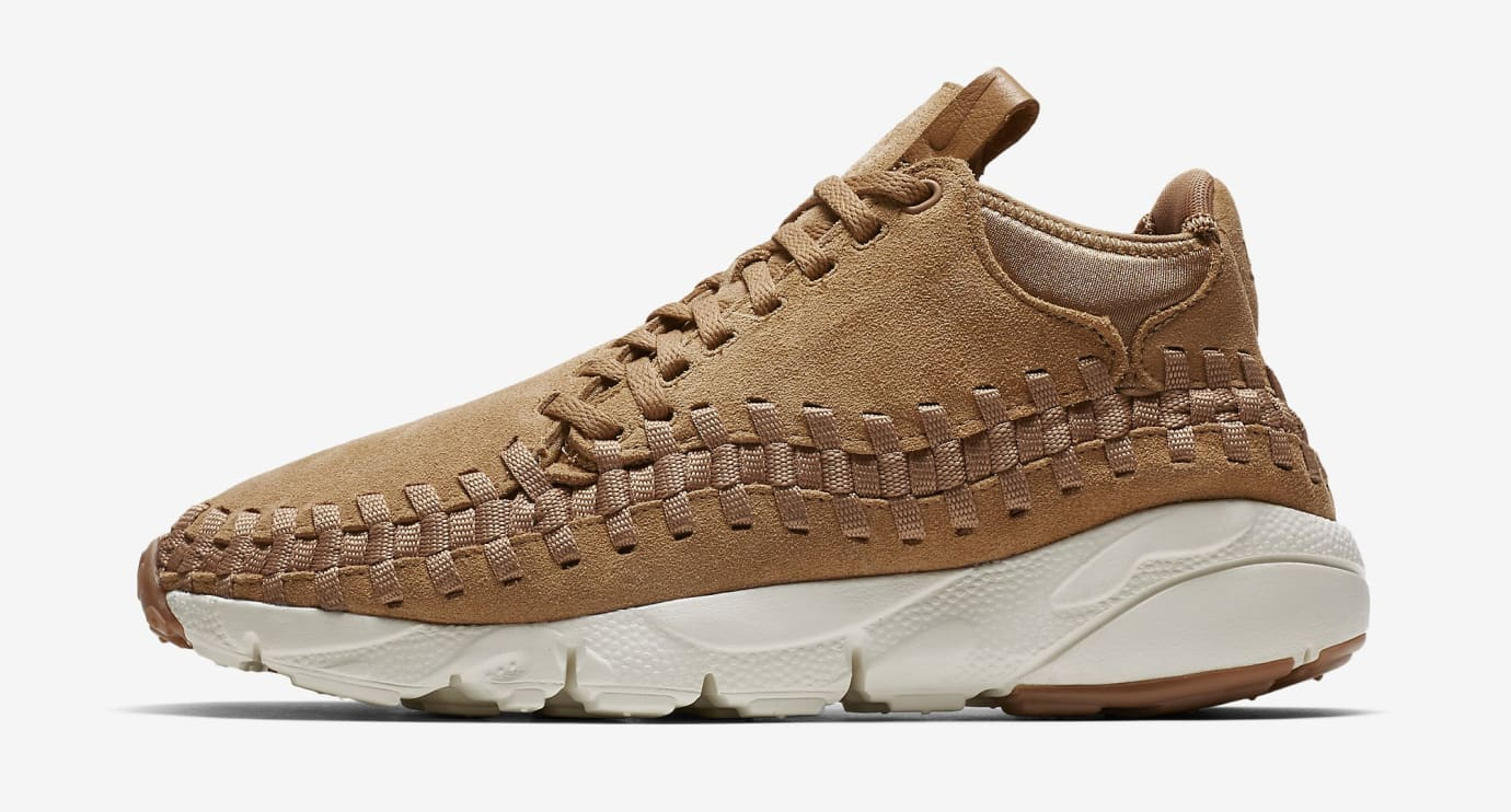 Wheat Nike Footscape Woven Motion Flax 443686-205