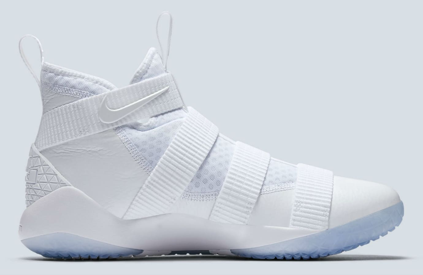 Nike LeBron Soldier 11 White Release Date Medial 897644-103