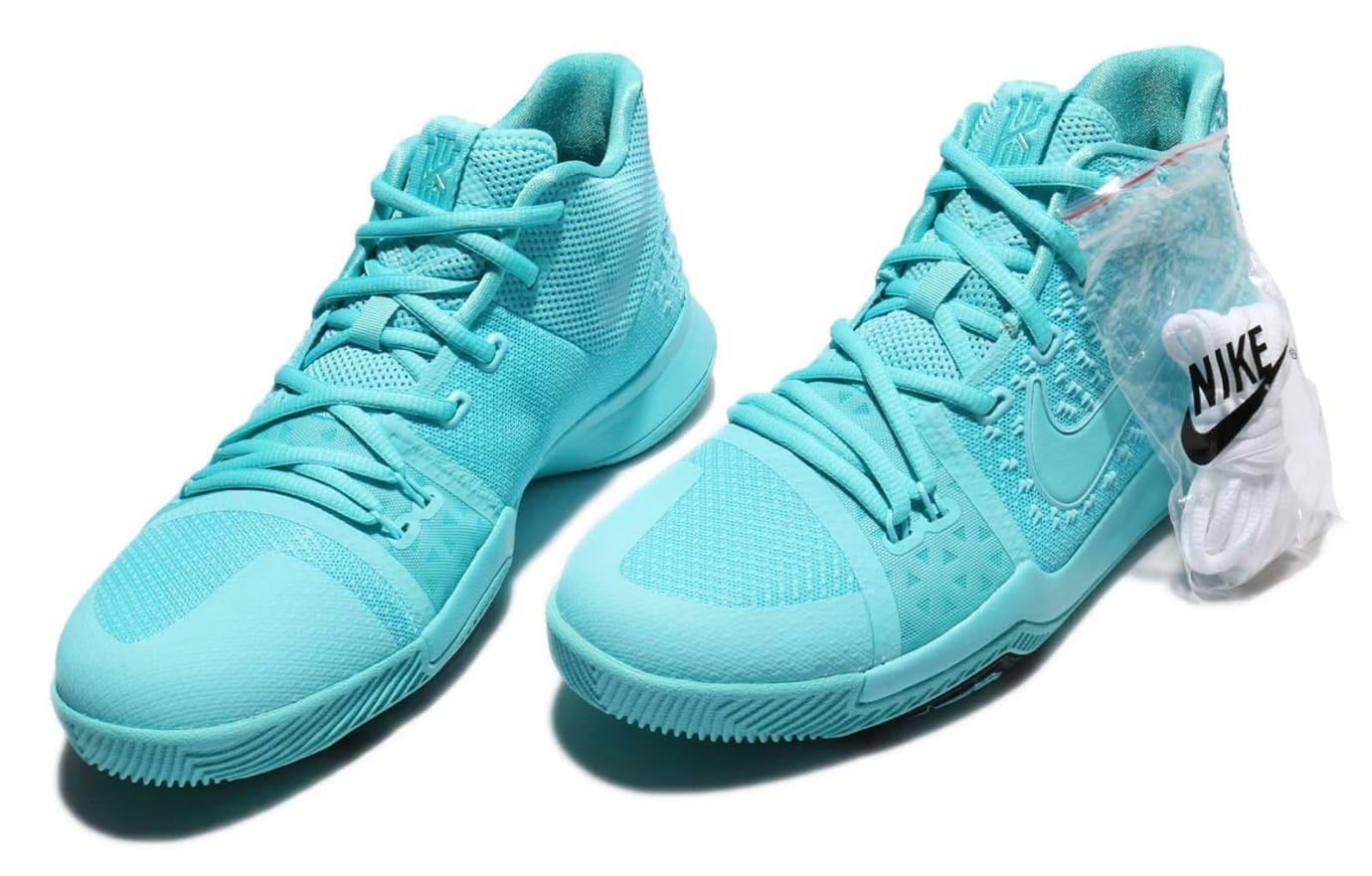 Nike Kyrie 3 GS Aqua Release Date Pair 859466-401