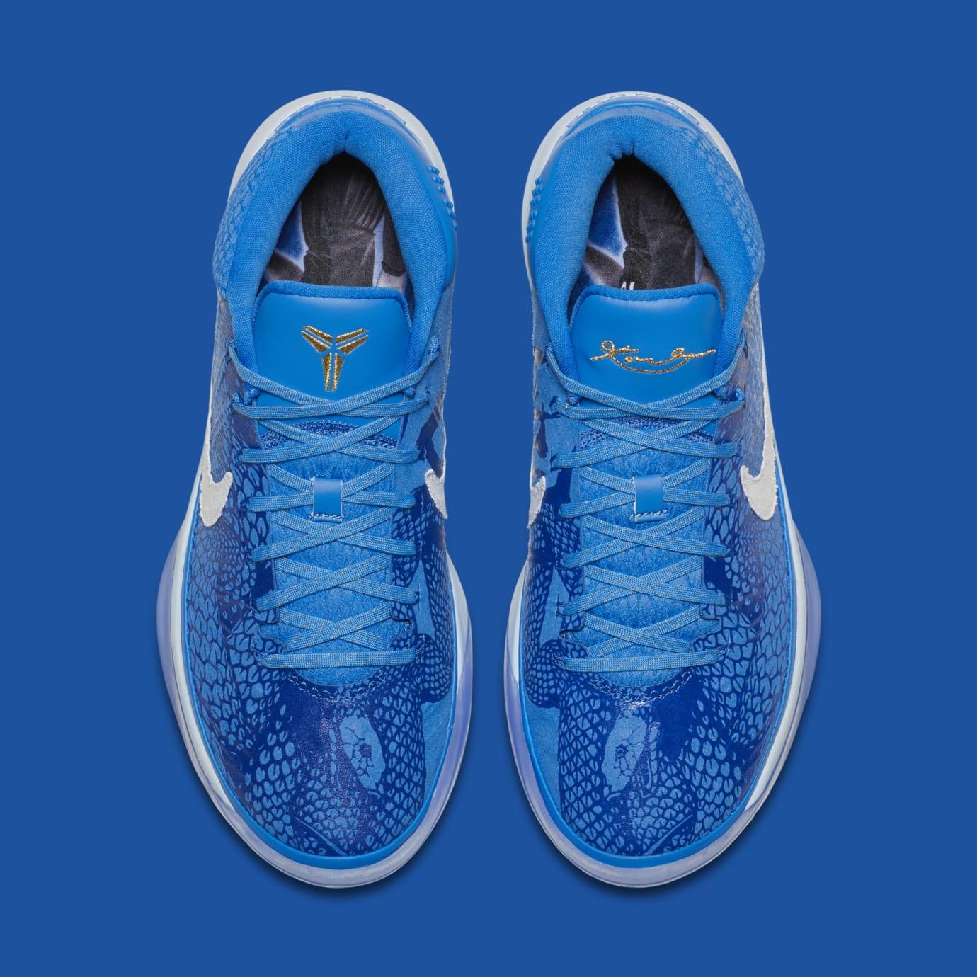 35b676f406c2 Image via Nike Nike Kobe A.D. Mid DeMar DeRozan PE AQ2722-900 (Top)