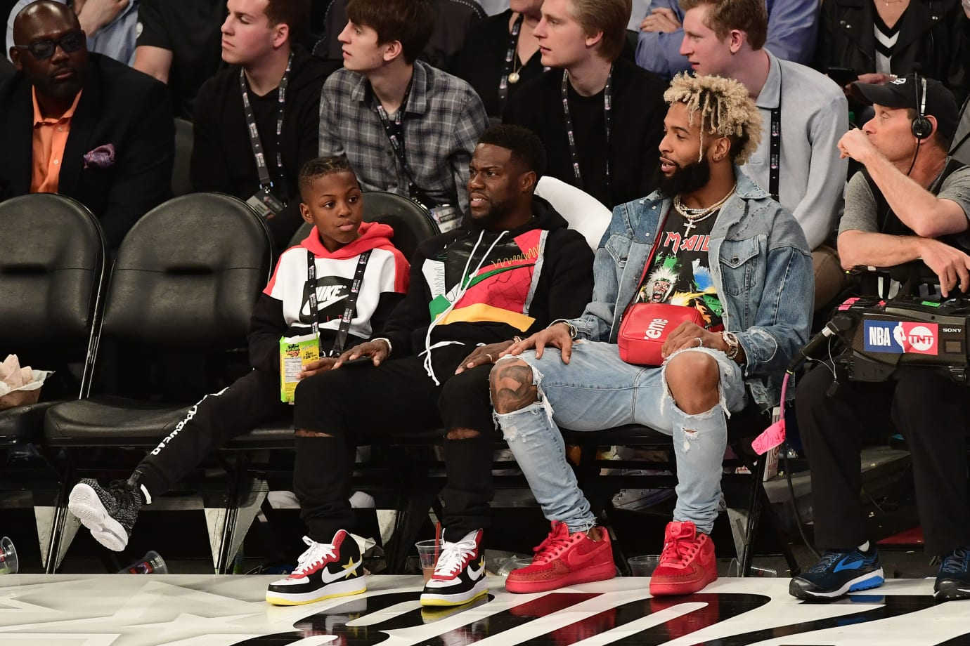 Odell Beckham Jr. 2018 NBA All-Star Game