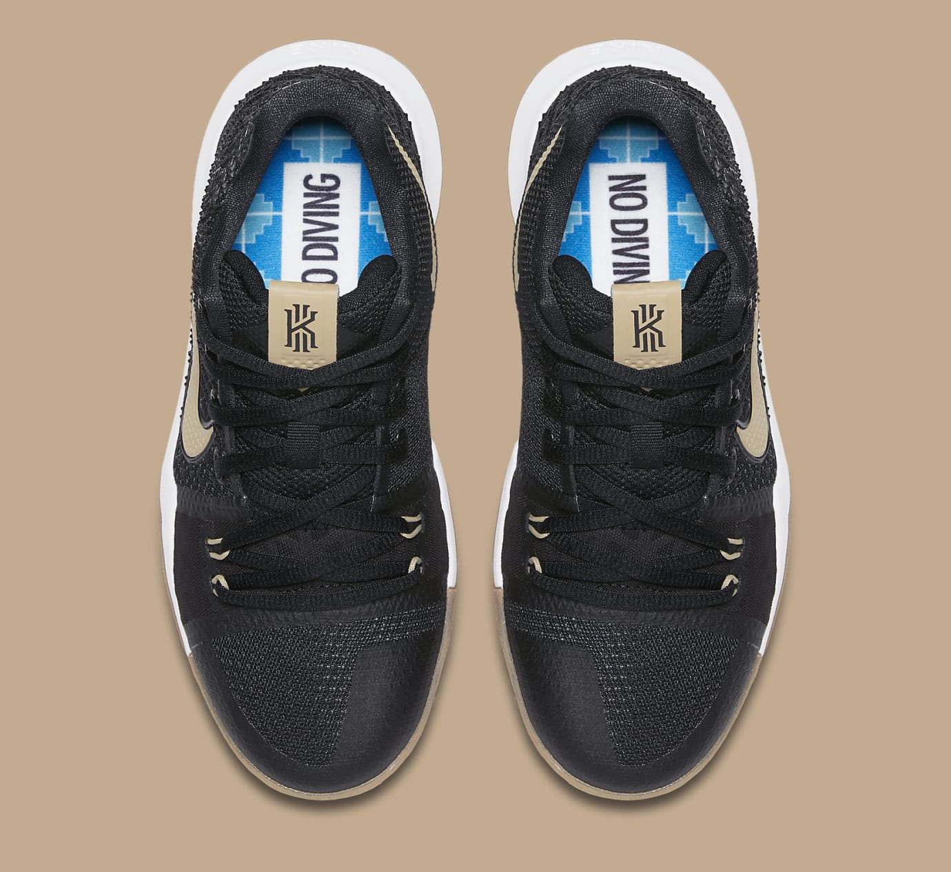 Nike Kyrie 3 No Diving 859466-092 Top