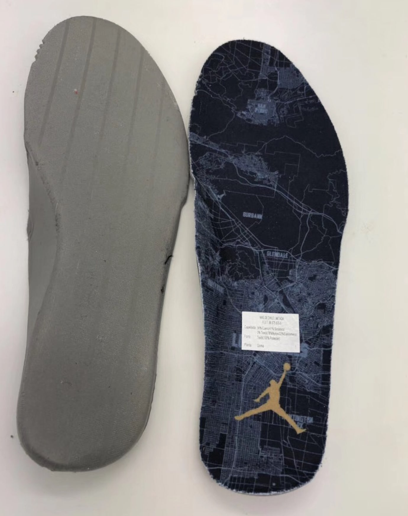 Air Jordan 9 IX Los Angeles All-Star Release Date Insole 302370-021