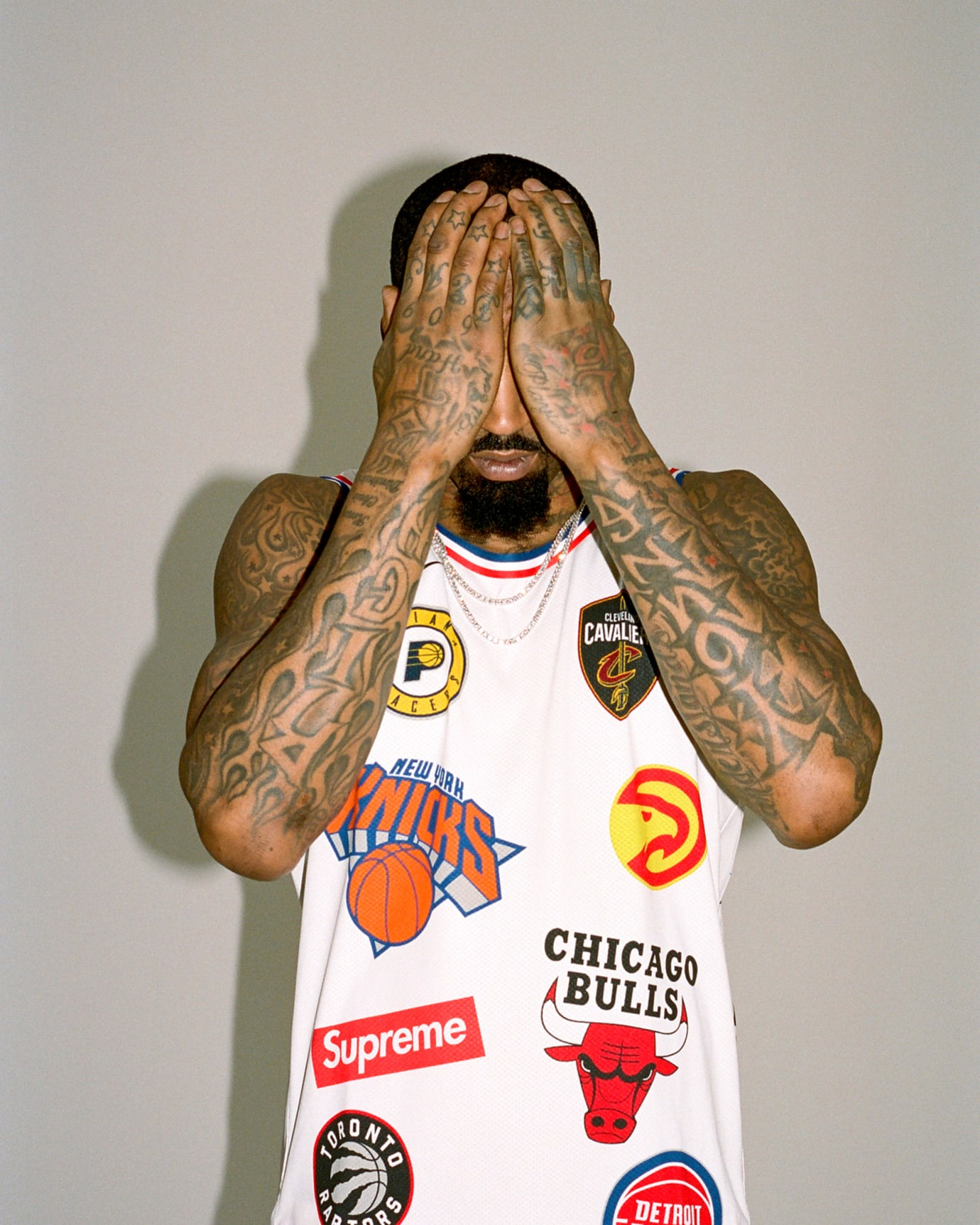 sale retailer 0fb57 ef90e J.R. Smith Supreme x Nike x NBA Jersey & Shorts | Sole Collector