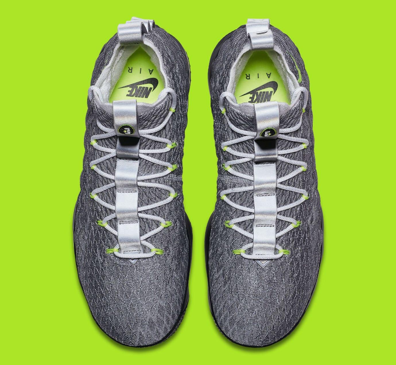 61f4d73d5cfc Nike LeBron 15 Air Max 95 Neon Release Date AR4831-001 Main