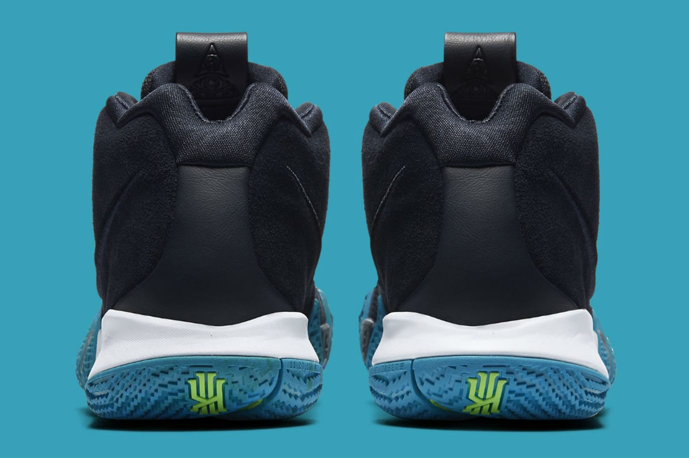 e351692f1d5084 Nike Kyrie 4 Dark Obsidian Release Date 943806-401 | Sole Collector