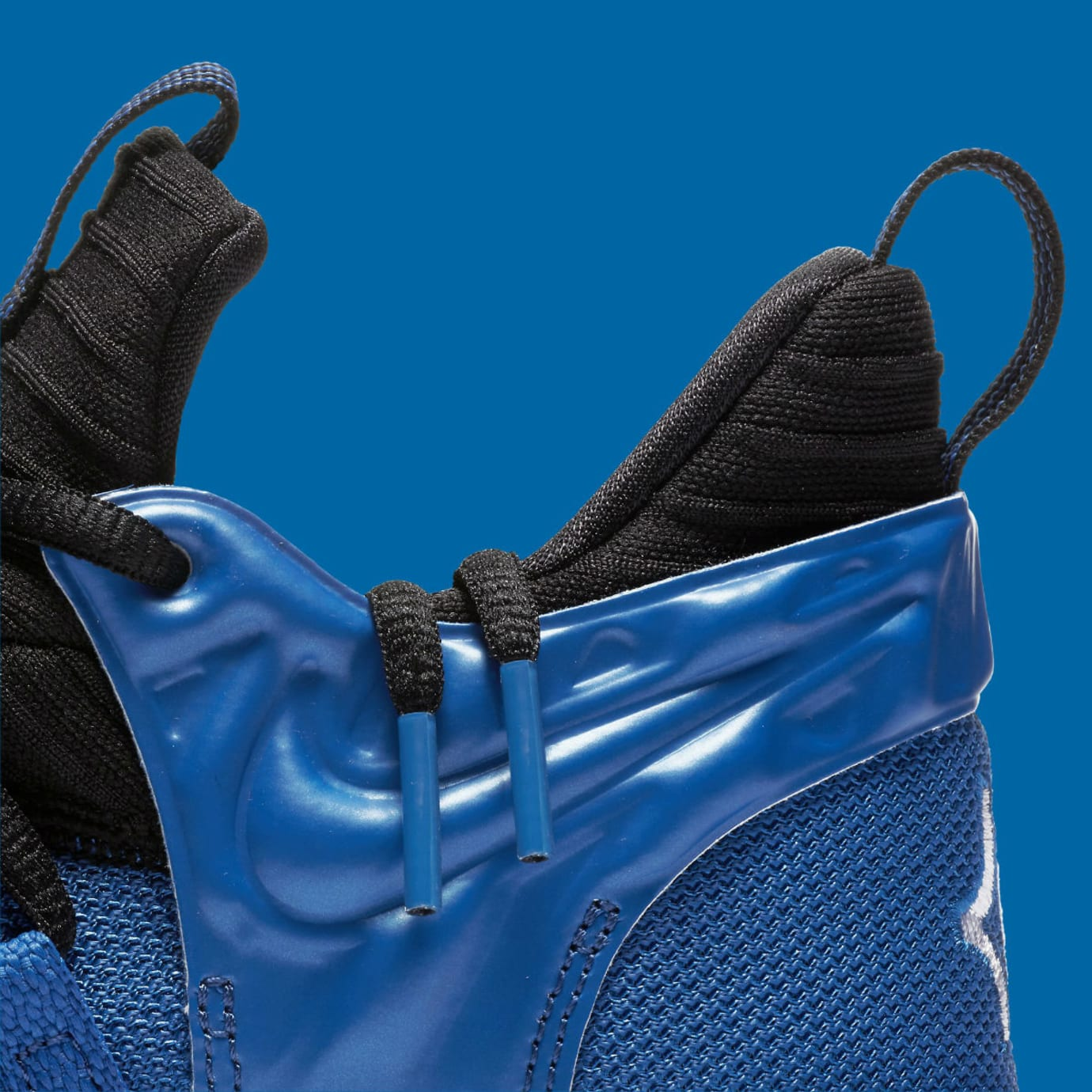 Nike KD 10 GS Foamposite Royal Release Date AJ7220-500 Collar