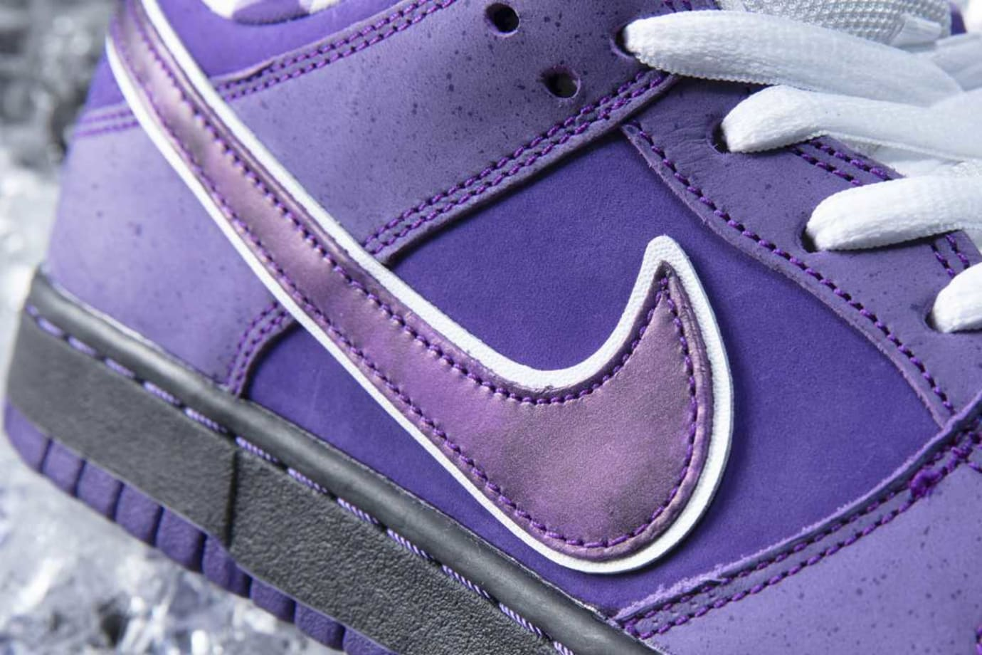 3cbadac81a77 Image via CNCPTS Concepts x Nike SB Dunk Low Purple Lobster Release Date  Swoosh