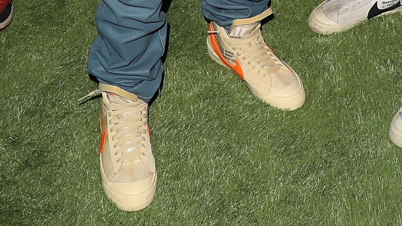 Off-White x Nike Blazer Tan/Orange