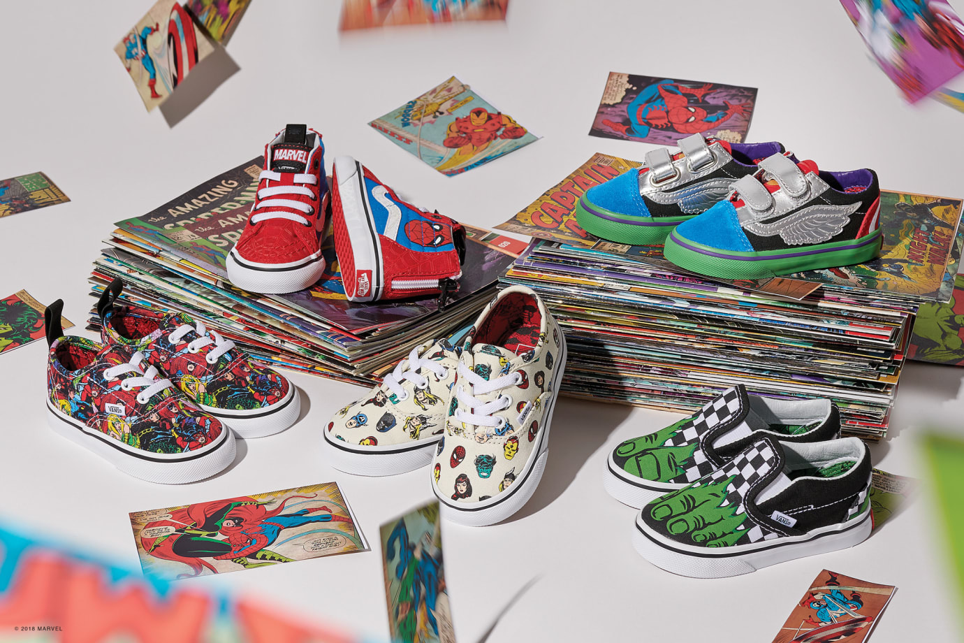 9a9334de2c4f0d Image via Vans Vans x Marvel Collection 6