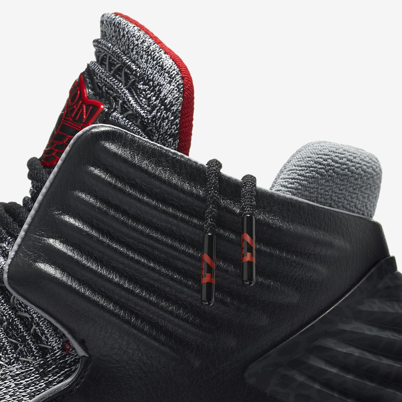 Air Jordan 32 MVP Black Cement AA1253-002 Ankle